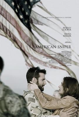 پوستر فیلم تکتیرانداز آمریکایی
