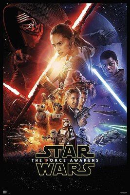 پوستر فیلم جنگ ستارگان 7: نیرو برمی خیزد