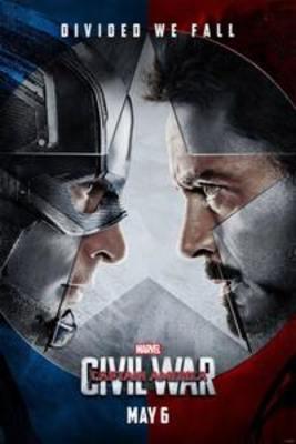 پوستر فیلم کاپیتان آمریکا: جنگ داخلی