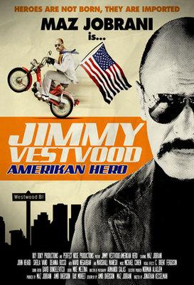 پوستر فیلم جیمی وست وود: قهرمان آمریکایی