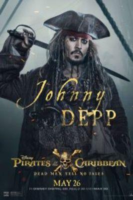 پوستر فیلم دزدان دریایی کارائیب 5: مرده ها قصه نمی گویند
