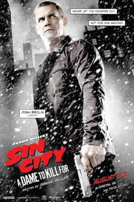 پوستر فیلم شهر گناه بانویی که به خاطرش می کشم