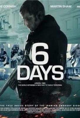 پوستر فیلم 6 روز
