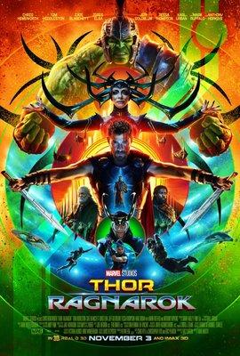 پوستر فیلم ثور 3: راگناروک