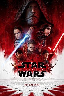 پوستر فیلم جنگ ستارگان: آخرین جدای