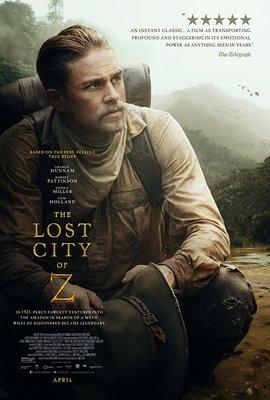 پوستر فیلم شهر گمشده زد