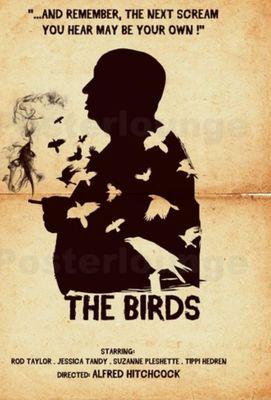 نقد فیلم پرندگان, The birds, هیچکاک می آید