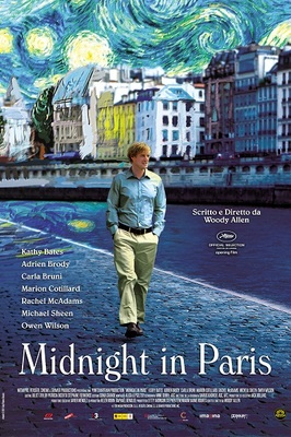 پوستر فیلم نیمه شب در پاریس