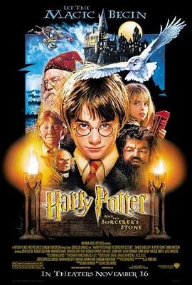 پوستر فیلم هری پاتر و سنگ جادو 1