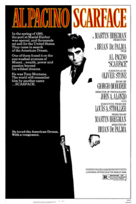 نقد فیلم صورت زخمی, Scarface, تبدیل یک پناهنده به صورت زخمی