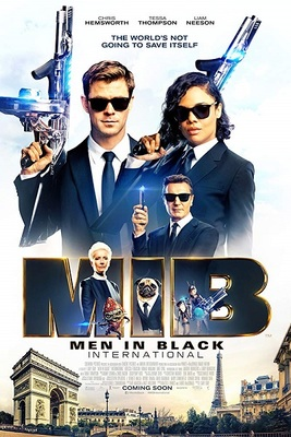 پوستر فیلم مردان سیاه پوش: بین المللی