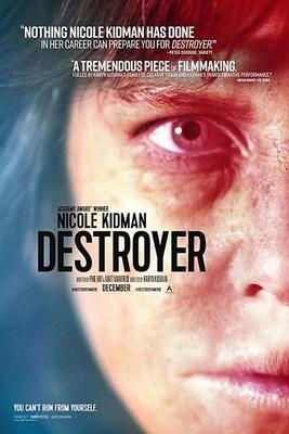 نقد فیلم ویرانگر, Destroyer, نیکول کیدمن در نقشی منزوی و غیرقابل شناسایی