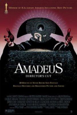 یادداشتی بر فیلم آمادئوس , Amadeus, سمفونی بی خدایی
