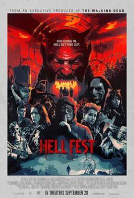 نقد فیلم مهمانی جهنمی, Hell Fest, ترن هوایی بی هیجان!