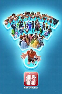 پوستر فیلم رالف اینترنت را خراب میکند