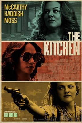 نقد فیلم کیچن, The Kitchen, تقلیدی از هشت یار اوشن