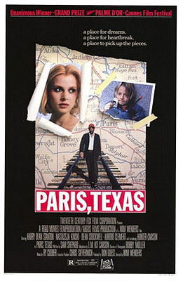 پوستر فیلم پاریس تگزاس