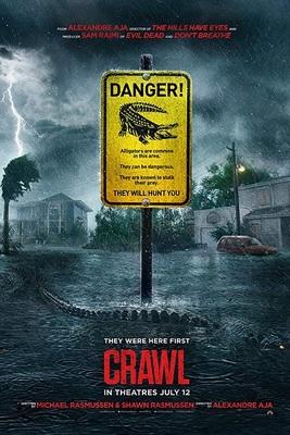 نقد فیلم خزیدن, Crawl, هیجان انگیز و دلخراش
