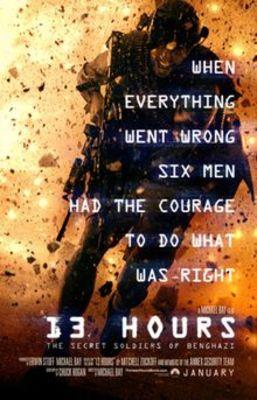 پوستر فیلم 13 ساعت: سربازان مخفی بنغازی