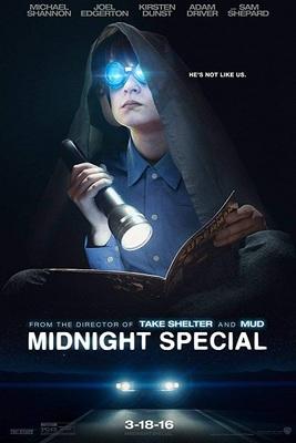 نقد فیلم ویژه نیمه شب, Midnight Special, آن ها در شب می رانند !
