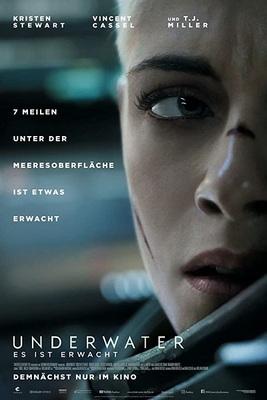 نقد فیلم زیر آب, Underwater, وحشت در چند هزار فرسنگ زیر دریا