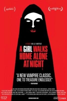 پوستر فیلم دختری در شب تنها به خانه می رود