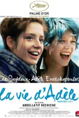 پوستر فیلم آبی گرمترین رنگ است