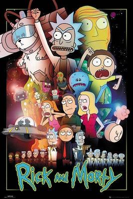 نقد سریال ریک و مورتی, Rick and Morty, مورتی مکمل ریک ( آشنایی با مجموعه)