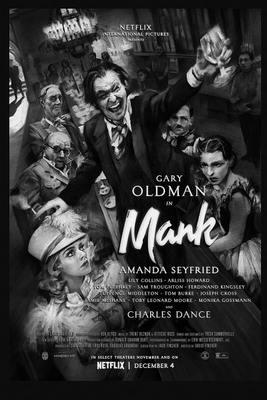 نقد فیلم منک, Mank, درامی عمیق از دیوید فینچر