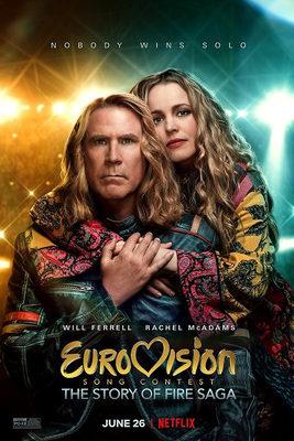 فیلم مسابقه آواز یوروویژن: داستان حماسه آتش