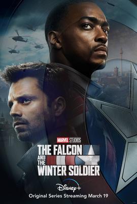 پوستر سریال فالکون و سرباز زمستان