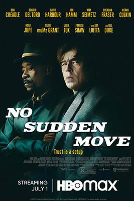 نقد فیلم حرکت ناگهانی ممنوع, No Sudden Move, دوشنبه معمولی