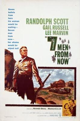 نقد فیلم هفت مرد از حالا, Seven Men from Now, مینیمال پر شکوه