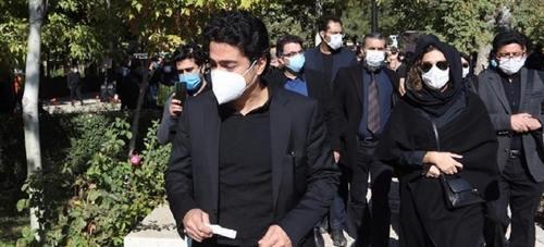 مراسم تشییع و خاکسپاری پیکر محمدرضا شجریان/ گزارش تصویری