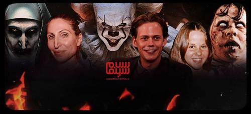 گریم های عجیب بازیگران در فیلم های ترسناک و چهره واقعی آن ها