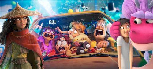 بهترین انیمیشن های سال 2021 کدامند؟