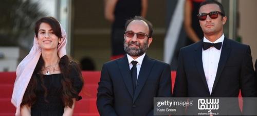 گزارش ویدیویی از فرش قرمز فیلم قهرمان اصغر فرهادی در کن 2021