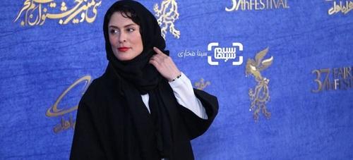 بهناز جعفری در گروه بازیگران سریال «آهوی من مارال»