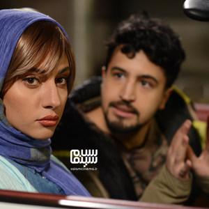 مهرداد صدیقیان و ترلان پروانه در قسمت 5 سریال «رقص روی شیشه»