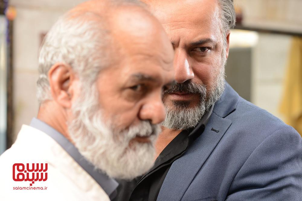 امیر آقایی در قسمت 5 سریال نمایش خانگی «رقص روی شیشه»