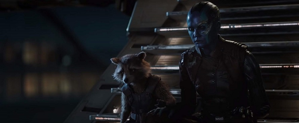 بردلی کوپر و کارن گیلان در فیلم سینمایی «انتقام جویان4: آخر بازی» (Avengers: Endgame)