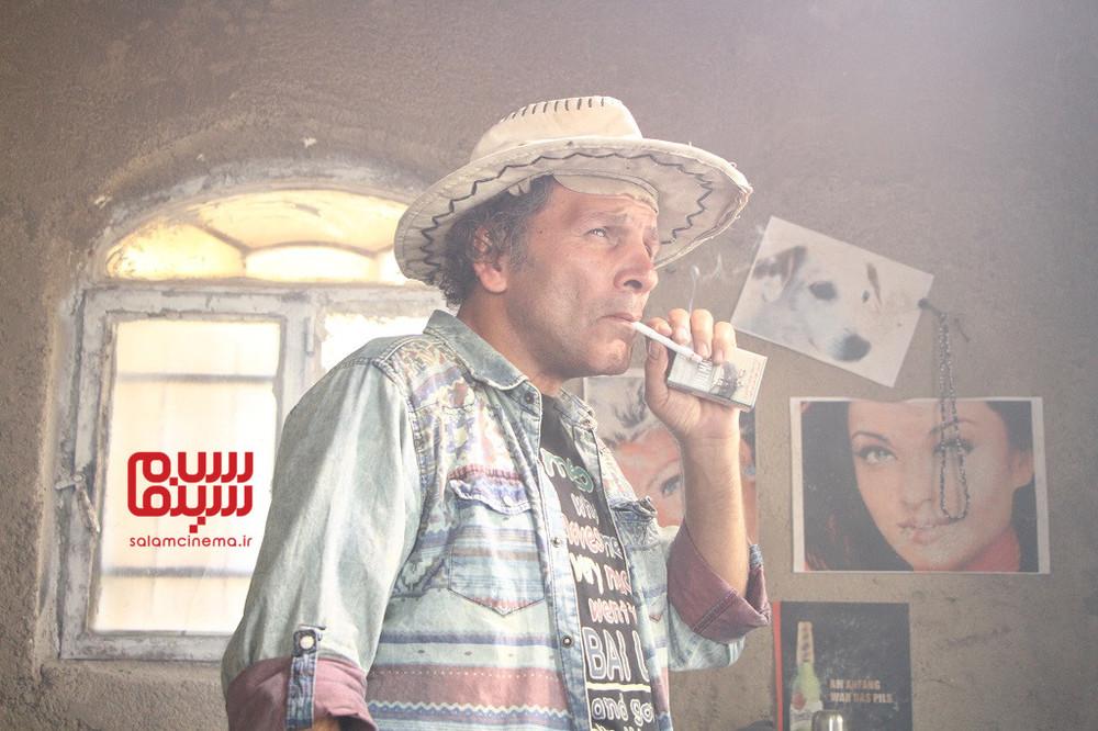 افشین سنگ چاپ در فیلم «دو لکه ابر»