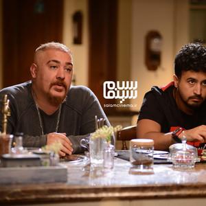 علیرضا زمانی نسب و مهرداد صدیقیان در قسمت 6 سریال «رقص روی شیشه»