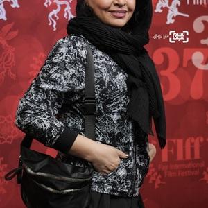 مه لقا باقری در اکران فیلم «پیلوت» در سی و هفتمین جشنواره جهانی فیلم فجر