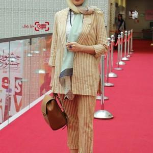 مریم معصومی در اکران فیلم سینمایی «لابیرنت» در سی و هفتمین جشنواره جهانی فیلم فجر