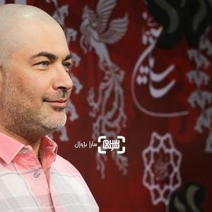 پارسا پیروزفر در اکران فیلم سینمایی «بی حسی موضعی» در سی و هفتمین جشنواره جهانی فیلم فجر