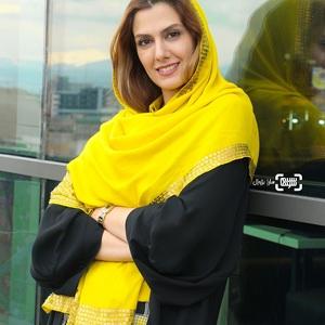 سپیده مظاهری تهرانی در اکران فیلم «سیمین» در سی و هفتمین جشنواره جهانی فیلم فجر
