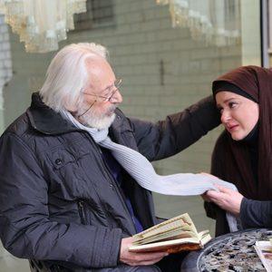 نعیمه نظام دوست و جمشید مشایخی در فیلم «رفقای خوب»