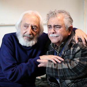 احمدرضا اسعدی و جمشید مشایخی در فیلم «رفقای خوب»