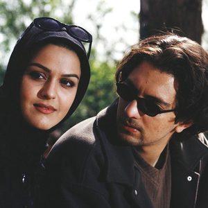 ساره آرین و بهرام رادان در فیلم «آواز قو»